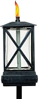 TIKI Brand 65-Inch Square Beacon Torch, Metal/Black