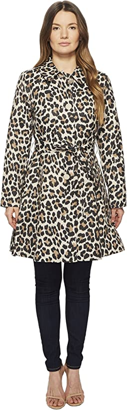 Kate Spade New York - Cheetah Printed Cotton Twill 36