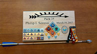 cub scout arrow of light plaque