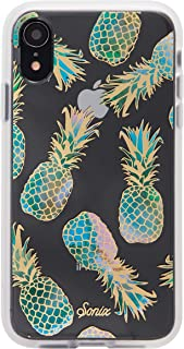 Sonix Liana Teal Case for iPhone XR [Military Drop Test Certified] Women's Protective Pineapple Clear Case for Apple iPhone XR