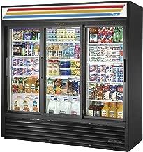 True GDM-69-HC-LD Sliding Glass Door Merchandiser Refrigerator with Hydrocarbon Refrigerant and LED Lighting, Holds 33 Degree F to 38 Degree F, 78.625