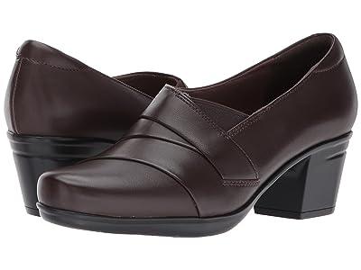 Clarks Emslie Warbler (Dark Brown Leather) Women