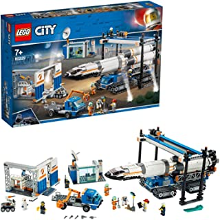 LEGO City Space Port Rocket Assembly & Transport for age 7+ years old 60229