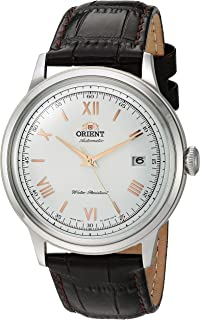 Orient 'Bambino Version 2' Stainless Steel Japanese Automatic/Hand-Winding Dress Watch