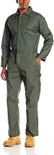 Key Long Sleeve Loden Green Unlined Coverall