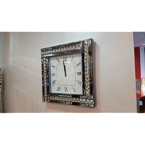 Crystal Clock Amazon Co Uk