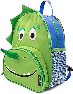 Joy2b Preschool Backpack Boys - Dinosaur Backpack For Kids 3-5 Years Old - 12 Inch Toddler Boy Backpack, Travel Backpack F...