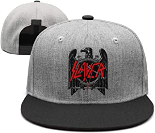 Unisex Mesh Flat Cap Slayer-Slayer-Reign-in-Blood- Caps