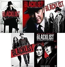 The Blacklist: Complete Series Seasons 1-5 DVD