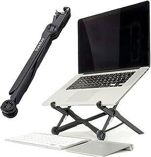 Tronature Uniwersalny stojak na laptopa z regulacją wysokości – składany stojak na laptopa o przekątnej ekranu 13, 15, 17 ...