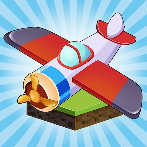 Merge n Planes - Merge Spiele für kostenlose Idle Spiele und lustige Offline Flugzeugspiele Kostenlose Idle Tycoon Spiele