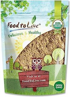 Organic Toasted Pumpkin Seeds Protein Powder, 3 Pounds - 60% Protein, Non-GMO, Pure, Plant Based,Vegan, Kosher, Bulk, Grea...