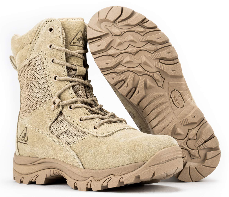 Tactical Combat Boots CoolMax Lining