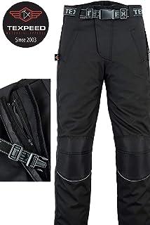 Motorcycle Black Cargo Trousers CE Armoured Waterproof Cordura /& Spandex CE-1621-1 S 30//76cm - Leg34//86cm
