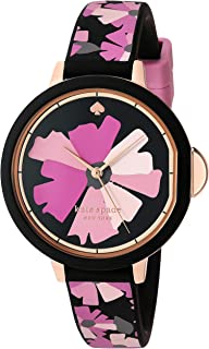 Women's Park Row Stainless Steel and Silicone Quartz Watch