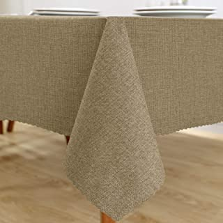 Sponsored Ad - Naturoom LinenRectangle Tablecloth- 55 x 84 Inch -Waterproof Durable Nonslip Wrinkle Resistant Table Clo...