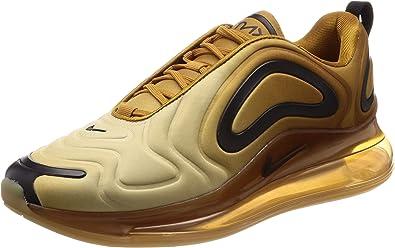 Nike Air Max 720 Mens Running Trainers AO2924 Sneakers Shoes (UK 8 US 9 EU 42.5, Wheat Black Club Gold 700)