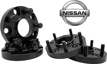 4 PC NISSAN 350Z 370Z INFINITY G35 G37 BLACK 20MM HUB CENTRIC WHEEL SPACERS ADAPTERS 12x1.25 LUG NUTS