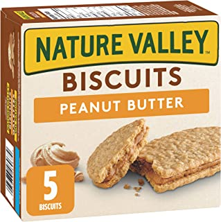 NATURE VALLEY Biscuits Peanut Butter, 5 Count, 190 Gram (packaging may vary)