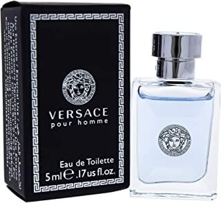 Pour Homme Miniture by Versace for Men - Eau de Toilette, 5 ml