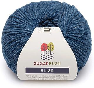 Sugar Bush Yarn Bliss Light Weight - Merino Wool -  Cobalt