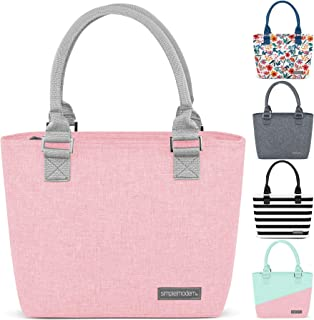 Simple Modern 4L Cara Lena Lunch Bag for Women - Pink Insulated Lunch Box -Blush