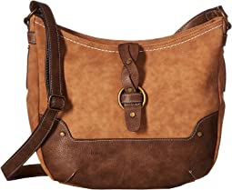 Tarrant Suede Braid Crossbody