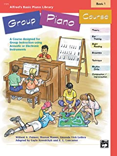 Alfred's Basic Group Piano Course, Bk 1: A Course De