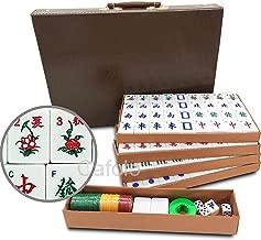 Mose Cafolo Chinese Mahjong X-Large 144 Numbered Melamine Tiles 1.5