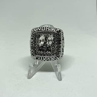 1984 Joe Montana San Francisco 49ers High Quality Replica 1984 Super Bowl XIX Ring Size 11.5-Silver US SHIPPING VS Miami Dolphins