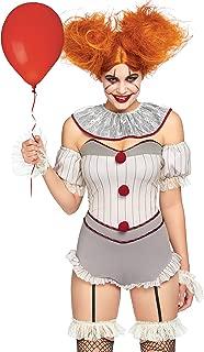 Women's 4 Pc Killer Sewer Clown Costume