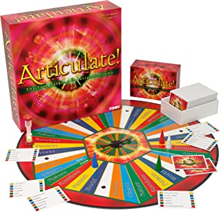 TOMY Articulate Family Board Game, U.S. Version, multi (T73073)
