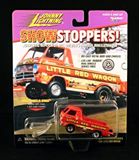 Johnny Lightning Bill Maverick GOLDEN'S 1988 Little RED Wagon 1997 SHOWSTOPPERS 1:64 Scale Die Cast Vehicle