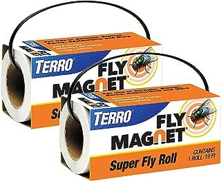 Terro T521SR Magnet Super Fly Roll-2 Pack, White