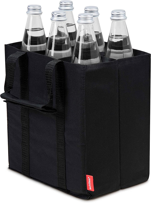 Aquiles®, Bottle de Bag 6, adb06, Bolsa de Botella para 6Botellas, 25cm x 17cm x 27cm