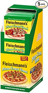 fleischmann's pizza crust yeast recipe