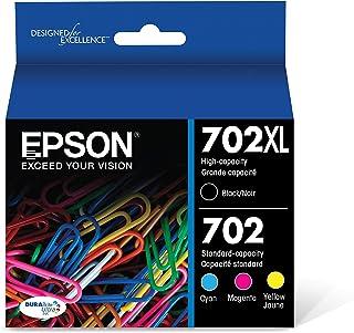 جوهر کارتریج Epson T702XL-BCS DURABrite فوق العاده سیاه و رنگ Combo Pack استاندارد ظرفیت