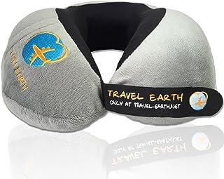 UDREAM coussin de voyage ergonomique ✮ Garanti 5 ans ✮ L'oreiller de voyage..