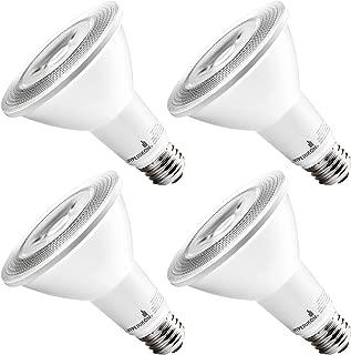 HyperSelect LED PAR30 Bulb, Long Neck 10W (65 Watt), Spot Light, E26 Base, 2700K, Non Dimmable, UL, 4 Pack