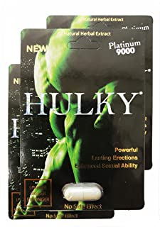 Hulky New Platinum 9000#1 in New York Best Quality Natural Male Dietary Herbal Product for Men by Hulky (3)
