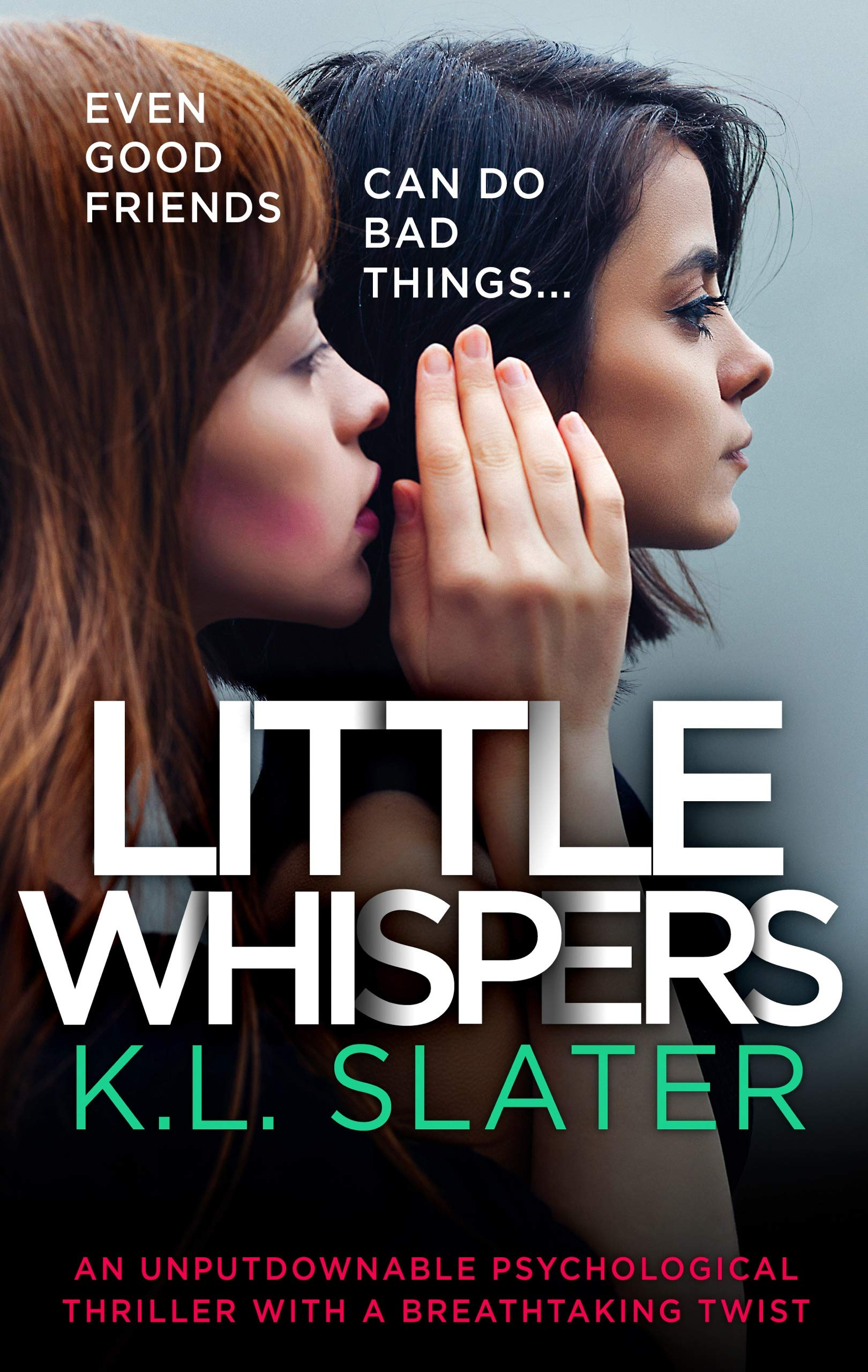 Cover image of Little Whispers by K.L. Slater