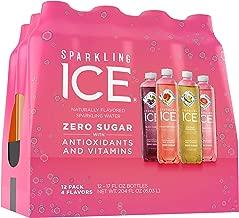 Sparkling Ice Variety Pack, 17 Fl Oz, 12Count (Black Cherry, Peach Nectarine, Coconut Pineapple, Pink Grapefruit)