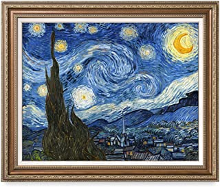 starry night original frame