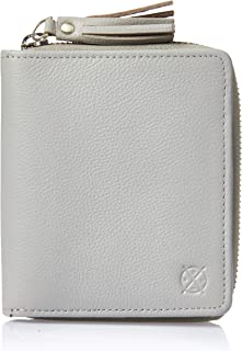 Stitch & Hide Women's Mia wallet Wallets, Misty grey, One Size