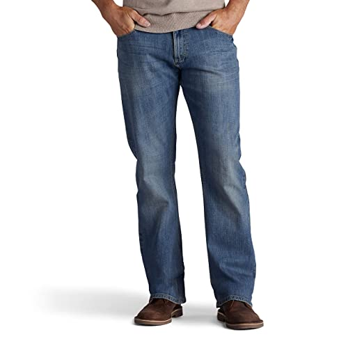 fe33695a316 LEE Men's Modern Series Relaxed Fit Bootcut Jean