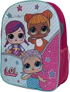 LOL Surprise Childrens/Kids Let Be Friends Backpack (UK Size: One size) (Pink)