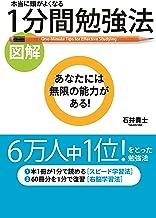 表紙: [図解]本当に頭がよくなる 1分間勉強法 (中経出版) | 石井 貴士