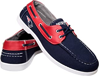 FOCO NFL Mens Side Logo Canvas Shoes