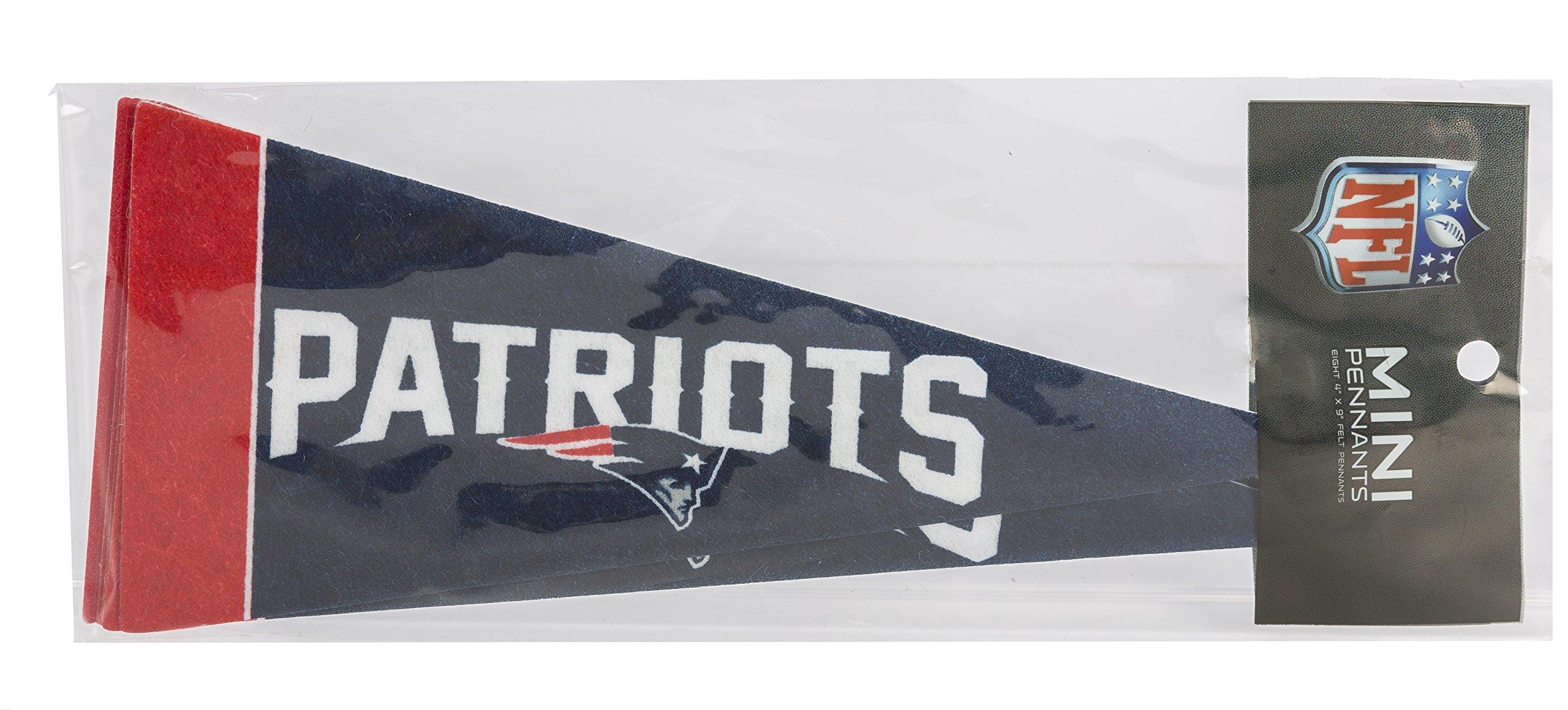New England Patriots Mini Pennants/ /8-teiliges Set