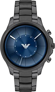 Emporio Armani Men's Smartwatch, Gunmetal Stainless Steel, ART5005